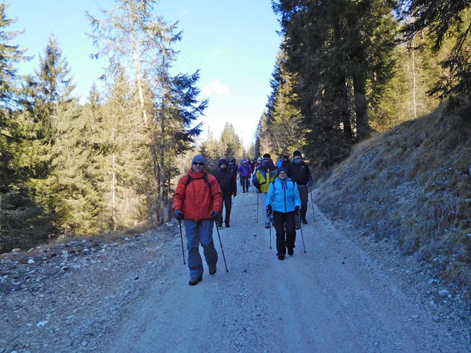 Fare Nordic Walking in Valle del Primiero